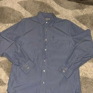 Converse Shirts - Converse One Star Men's Button Down Shirt Size L